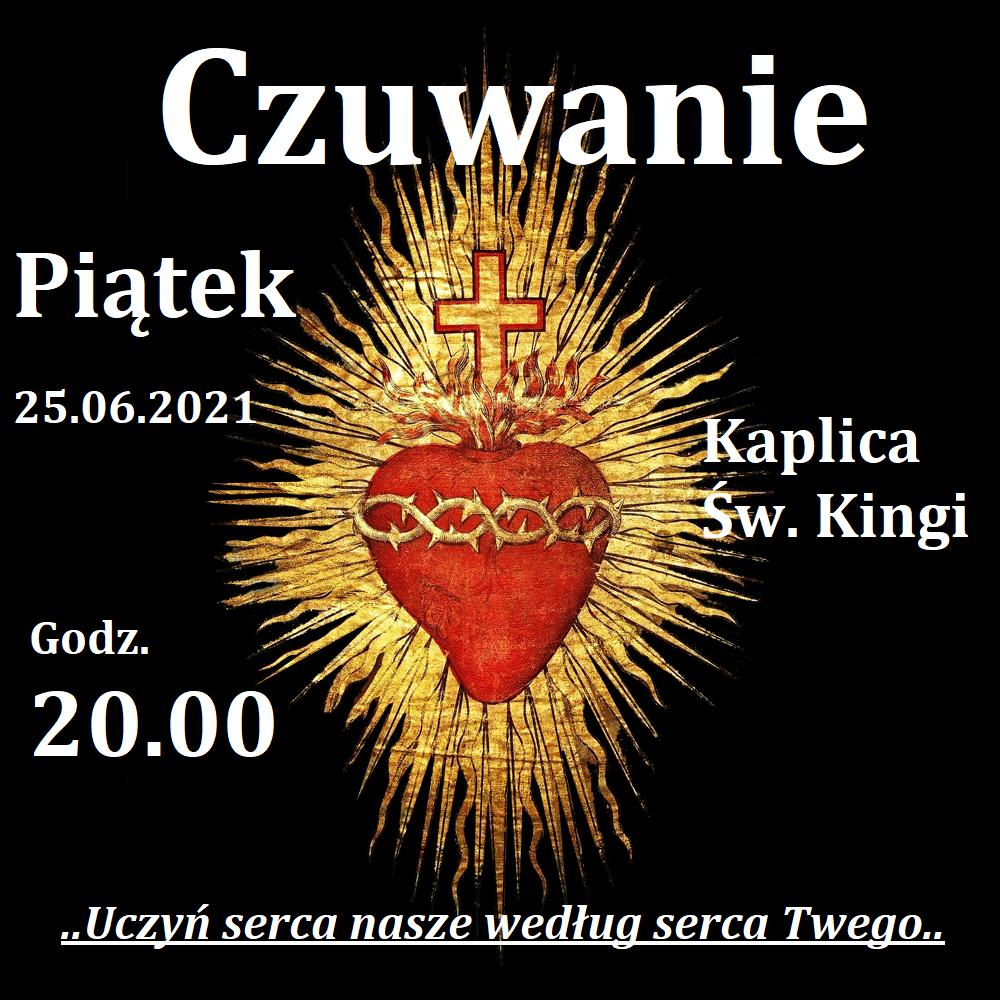 plakat czuwanie 25.06.2021
