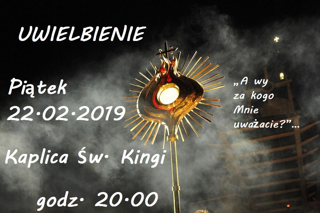 uwielbienie 22.02.2019r.